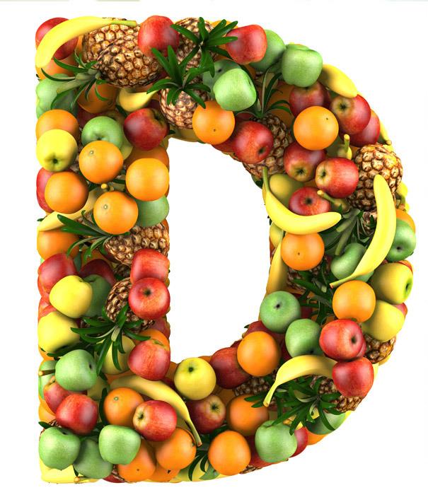 vitamina d frutas