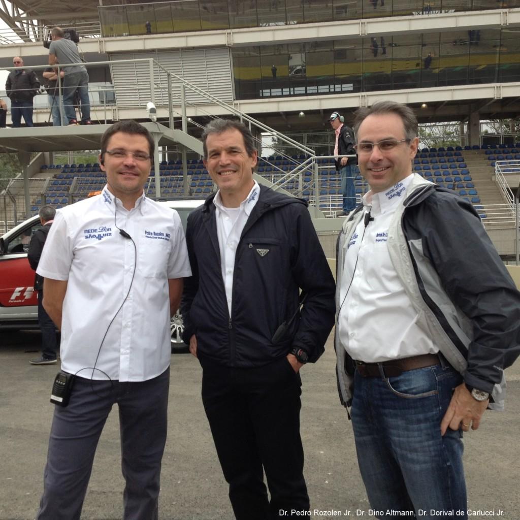 Drs Pedro, Dino e Dorival